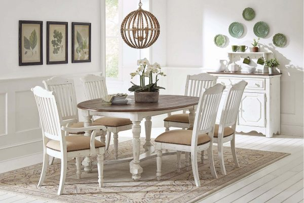 51 Farmhouse Dining Tables For Whimsical Rustic Dining Rooms