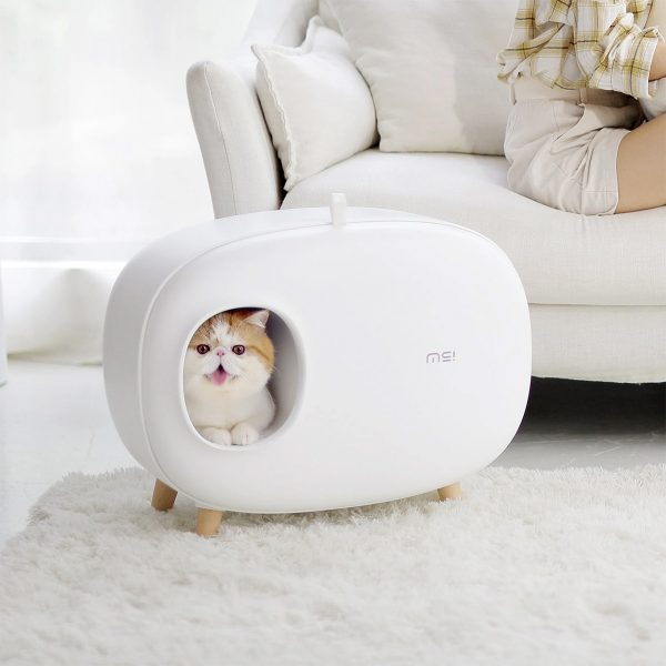 Product Of The Week: A Cute And Stylish Cat Litter Box