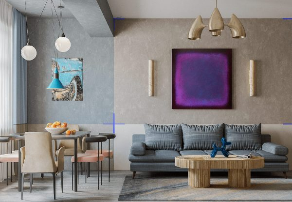 Unconventional Interior Crafted With Colour and Quirks