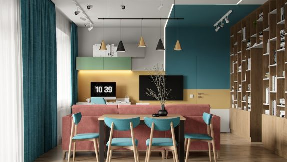 Distinctive Interiors With Compelling Colour Combinations