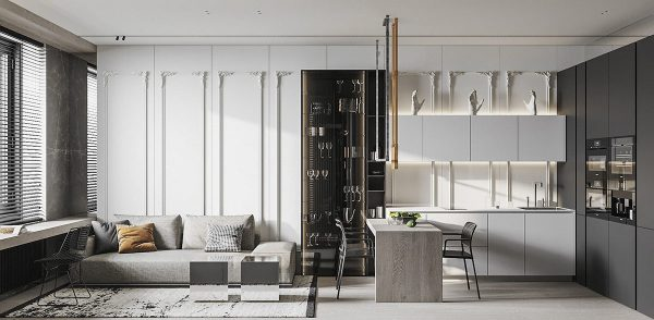 Decorative Vs Minimalist: Two Homes Under 50 Sqm (With Floor Plans)
