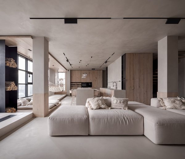 Unconventional Family Home Layout High Above The City Of Kyiv