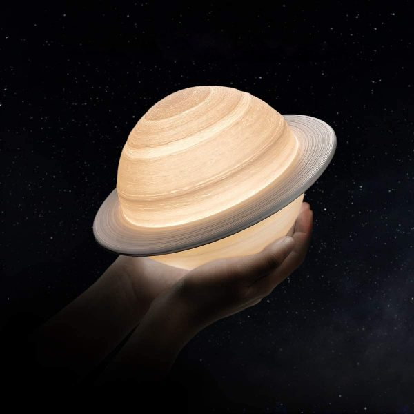 Product Of The Week: A Saturn Shaped LED Lamp
