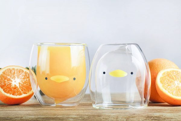 Product Of The Week: Cute Double Walled Bird Glasses