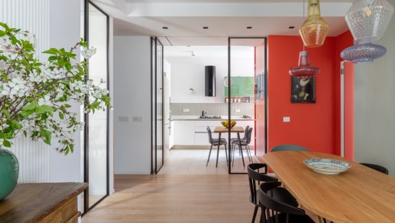 Lively Family-Friendly Home interior With Bold Colour