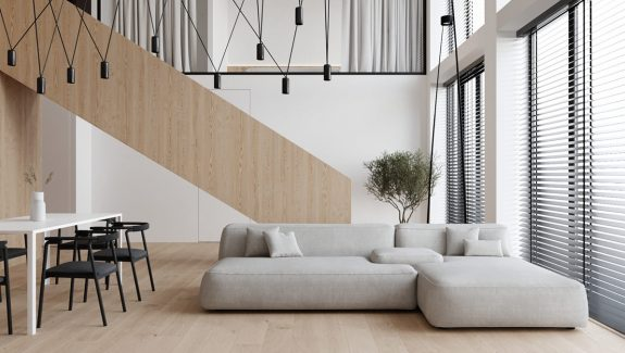 How To Perfect The Black, White, Wood & Grey Palette