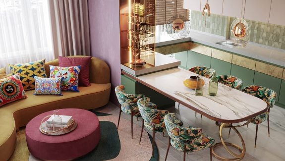 Colourful Interiors That Feel Like Spring & Summer