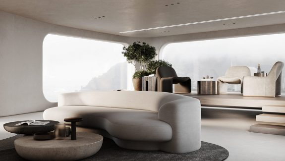 Rounded-Edge Furniture & Comforting Curves
