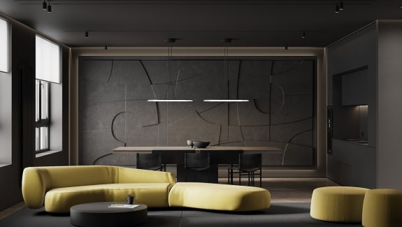 How To Create Daring Decor With Dark Textures