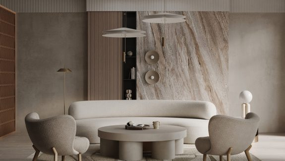 Warm Interior Decor With Comforting Soft Forms