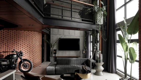 Inspired Industrial Interiors With Exposed Brick Walls