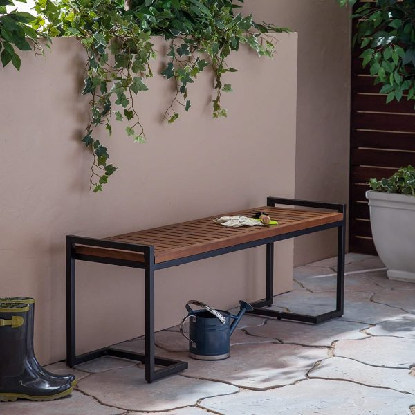 51 Outdoor Benches to Complete Your Garden or Patio