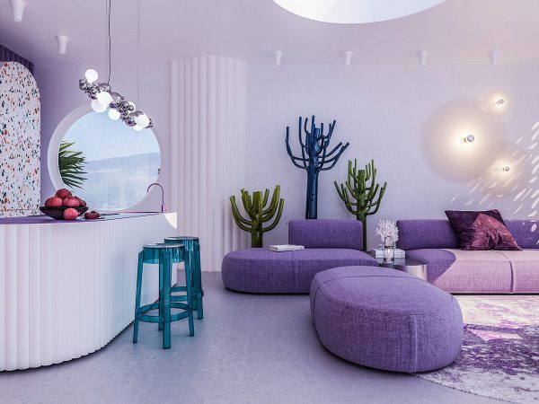 Unique & Colourful Interiors For Creative Home Owners