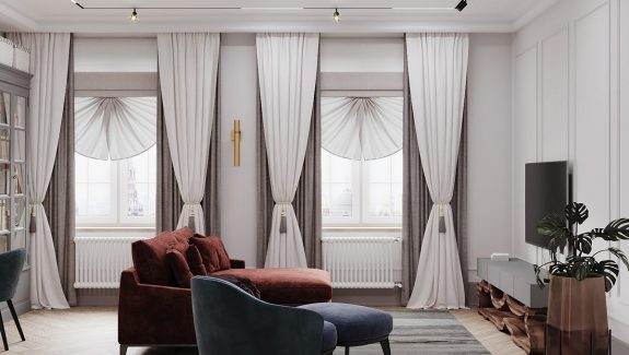Refined Classical Interiors With A Modern Twist