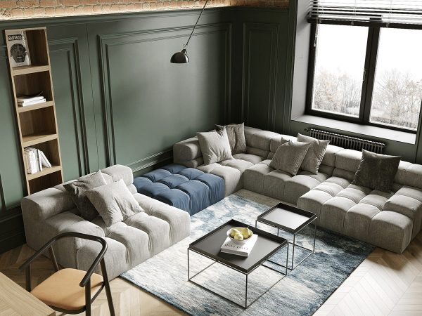 Colour Connected Interiors Under 85 Sqm (900 Sqft) With Floor Plans