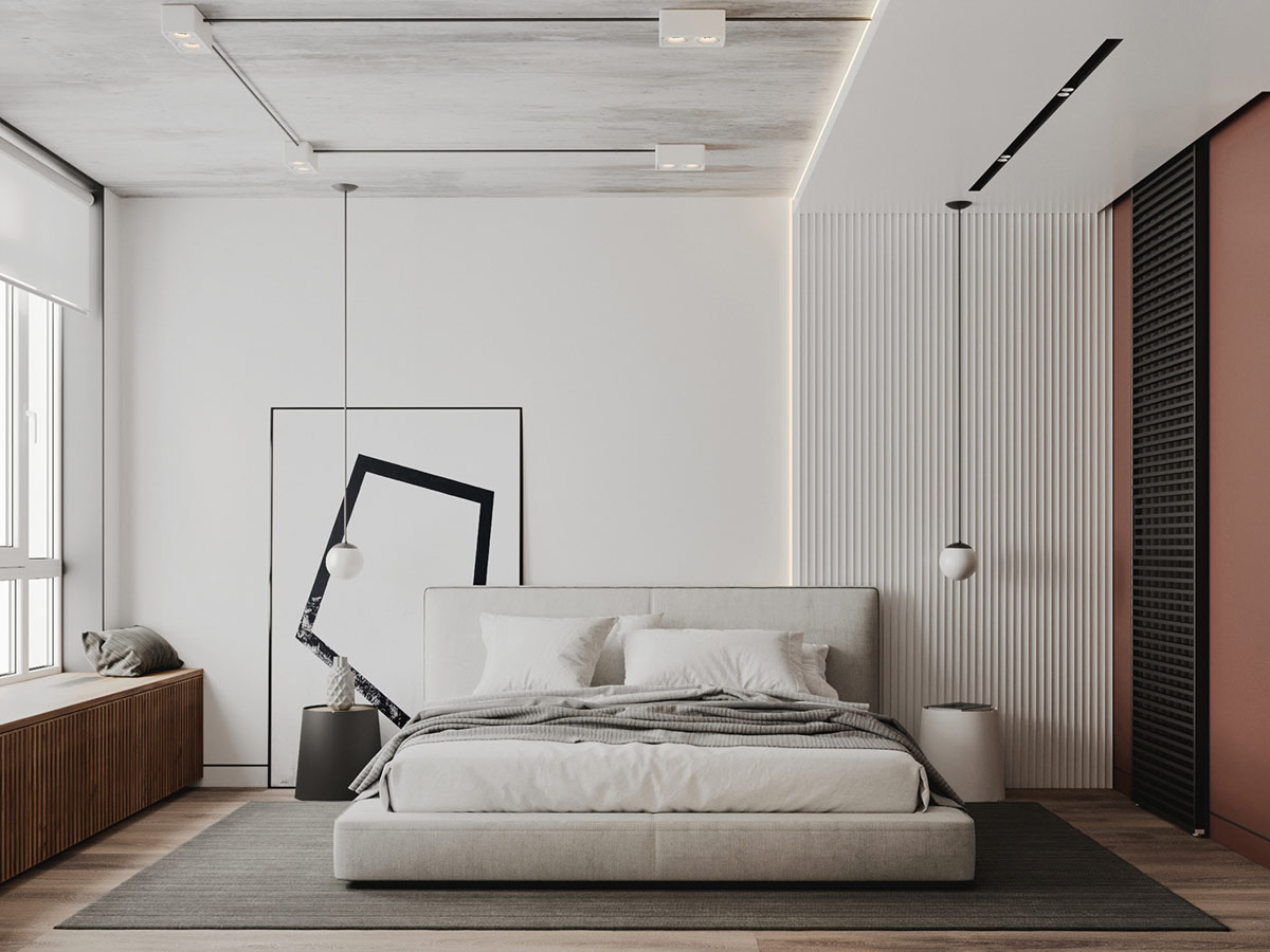 abstract bedroom