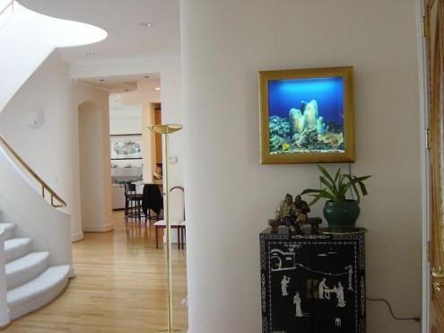 Wand-Aquarium