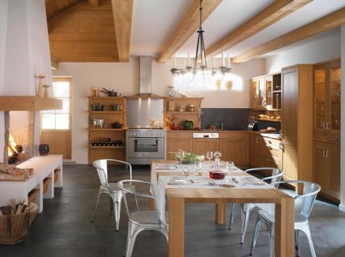 Französisch provincial Küche