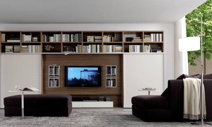 modern wall units. Black Bedroom Furniture Sets. Home Design Ideas