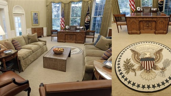 US Presidents' Office Interiors