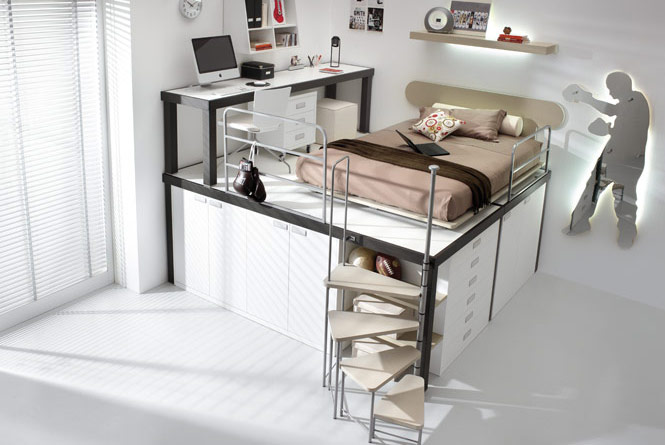 Bunk Beds And Lofts For Kids And Teens Room