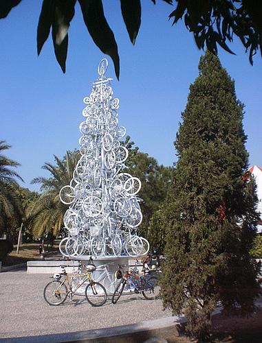 Fahrrad Weihnachtsbaum