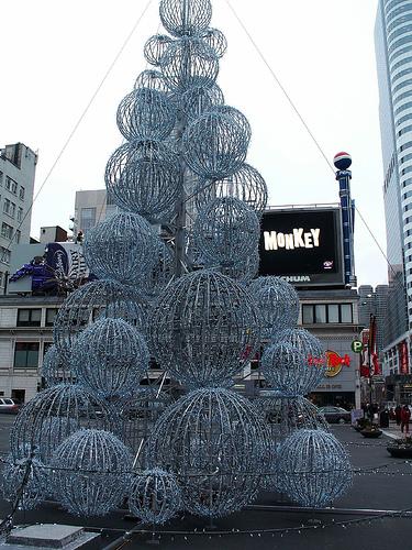 birdcage Weihnachtsbäume