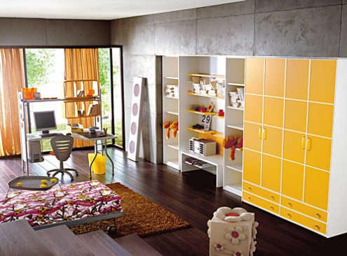 Kinderzimmer layout