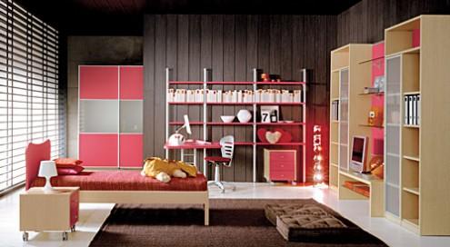 Kinder-Bett-Zimmer