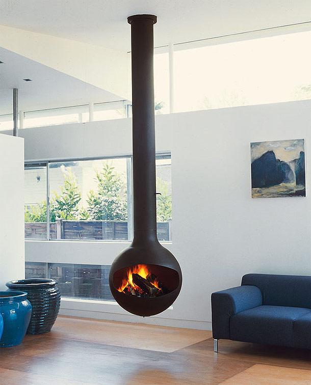 Hanging Fireplaces