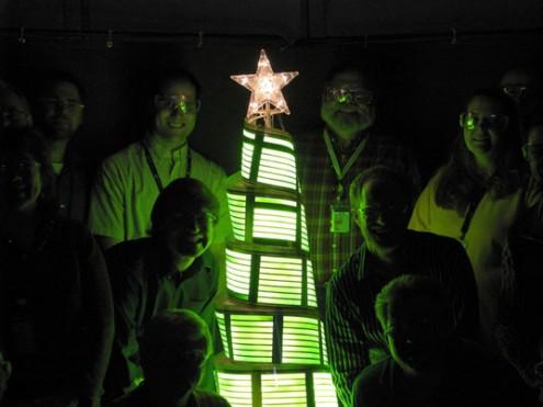 OLED-Weihnachten Beleuchtung