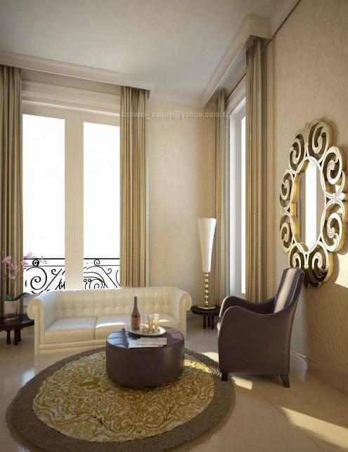 classic house interior