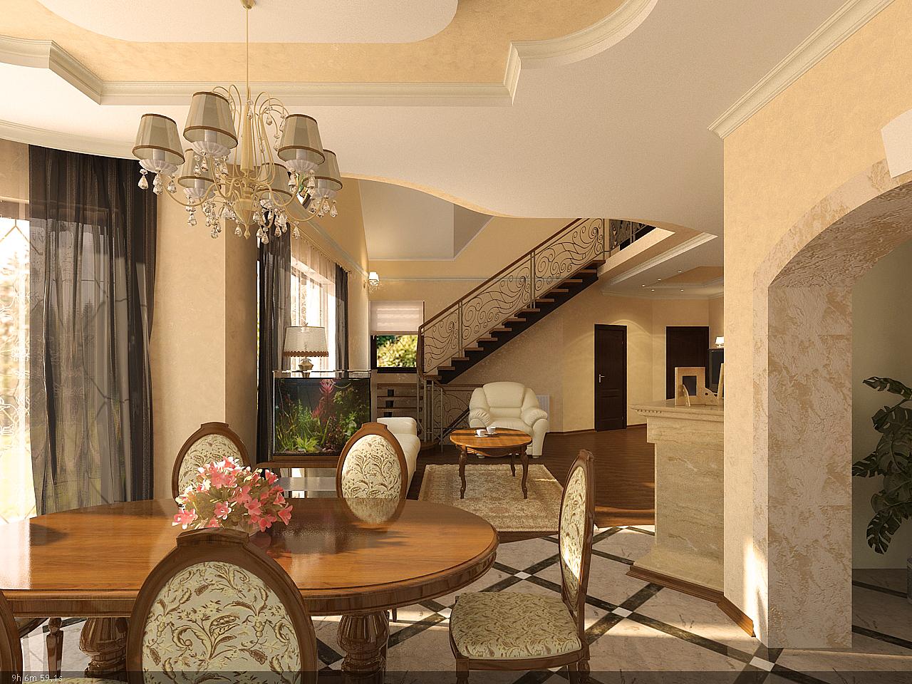 Classic Home Design With Various Color Ideas: Classic Interior Design