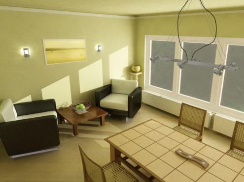 Bilder von grünen Wohnzimmer
