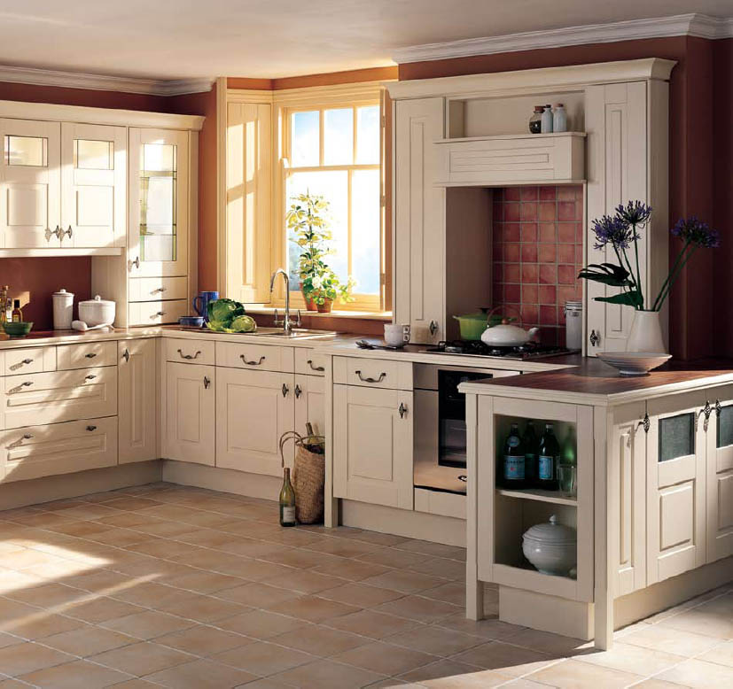 English country style kitchens for New style kitchen cabinets