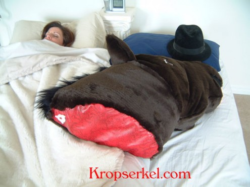 pferdekopf-Kissen