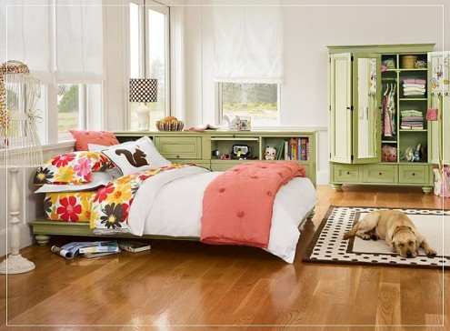 Schlafzimmer für Mädchen