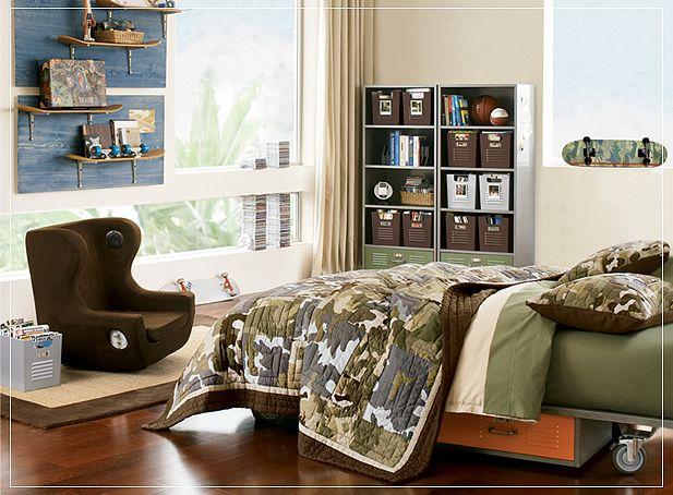 Teen Room Designs - Teenage Boy Room Designs