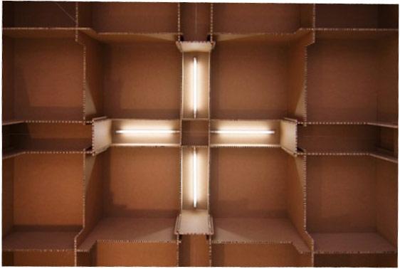 Karton-Möbel