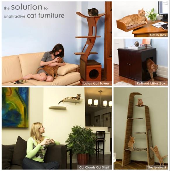 Katze-Möbel