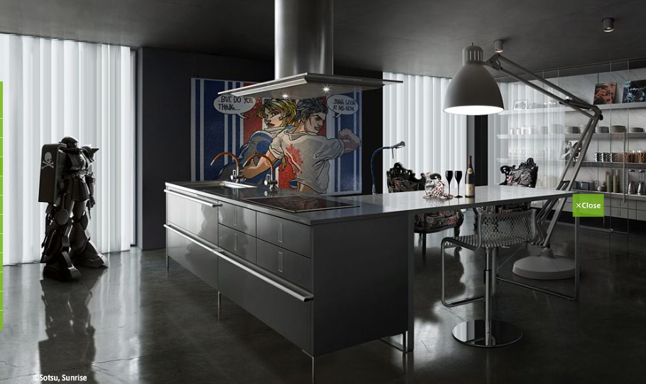 Modern Japanese Kitchen Design By Toyo Kitchen