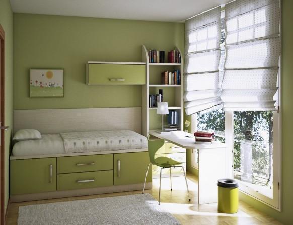 green kids room