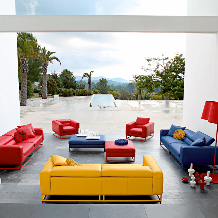 Spring Summer Living Rooms From Roche Bobois