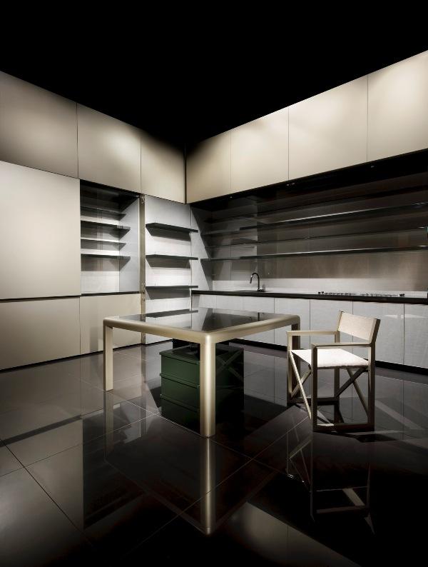 Giorgio Armani Kitchen At Milan Furniture Fair 2009
