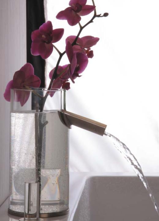 Bad Wasserhahn Blume