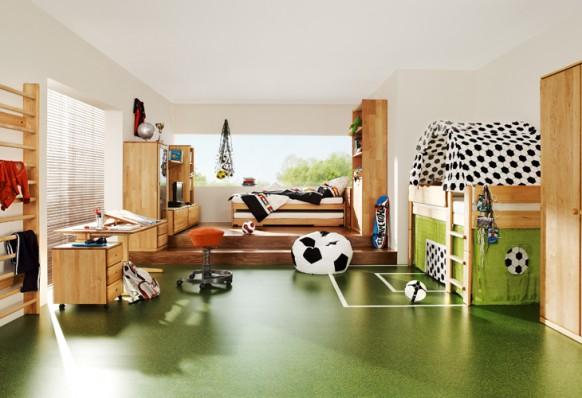 Sport-Themen-Kinder-Zimmer