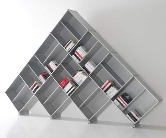 einzigartige modulare Bücherregal