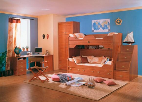 traditionelle Kinder-Arbeitszimmer