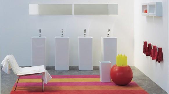 kompakte Badezimmer