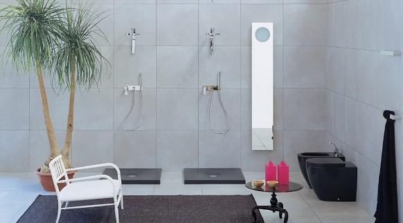 designer-Badezimmer grün